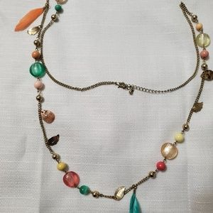 Jewelry - Long multi color necklace